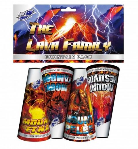 Lava Family Fountain Pack